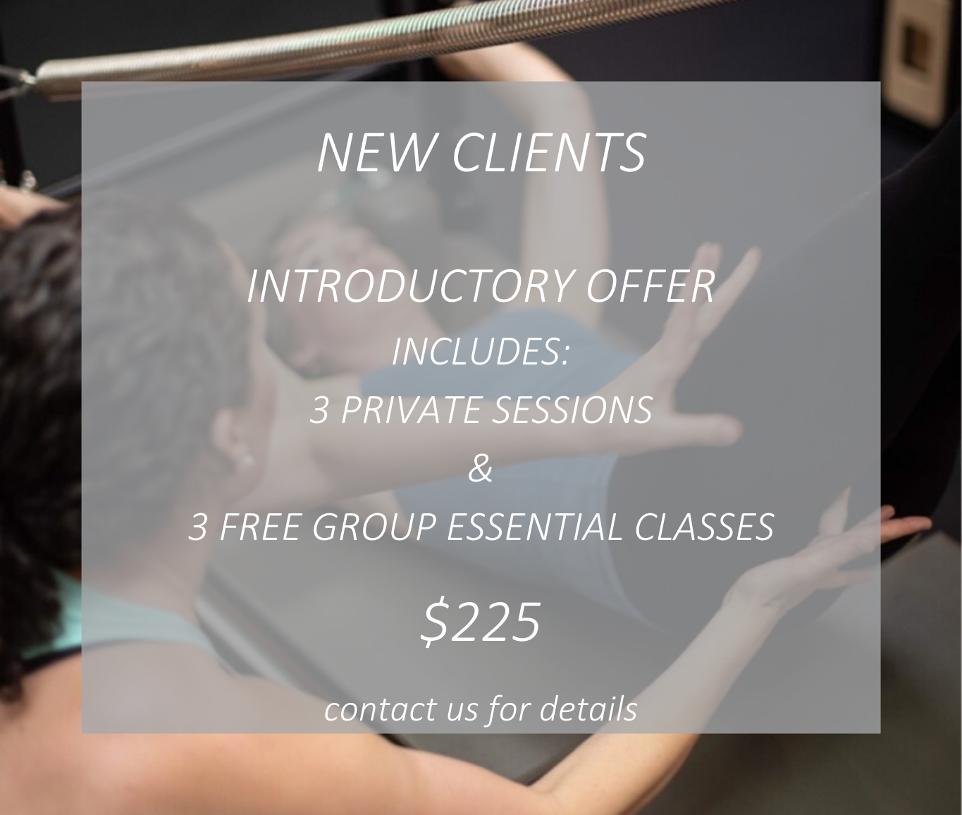 Intro Offer for Website
