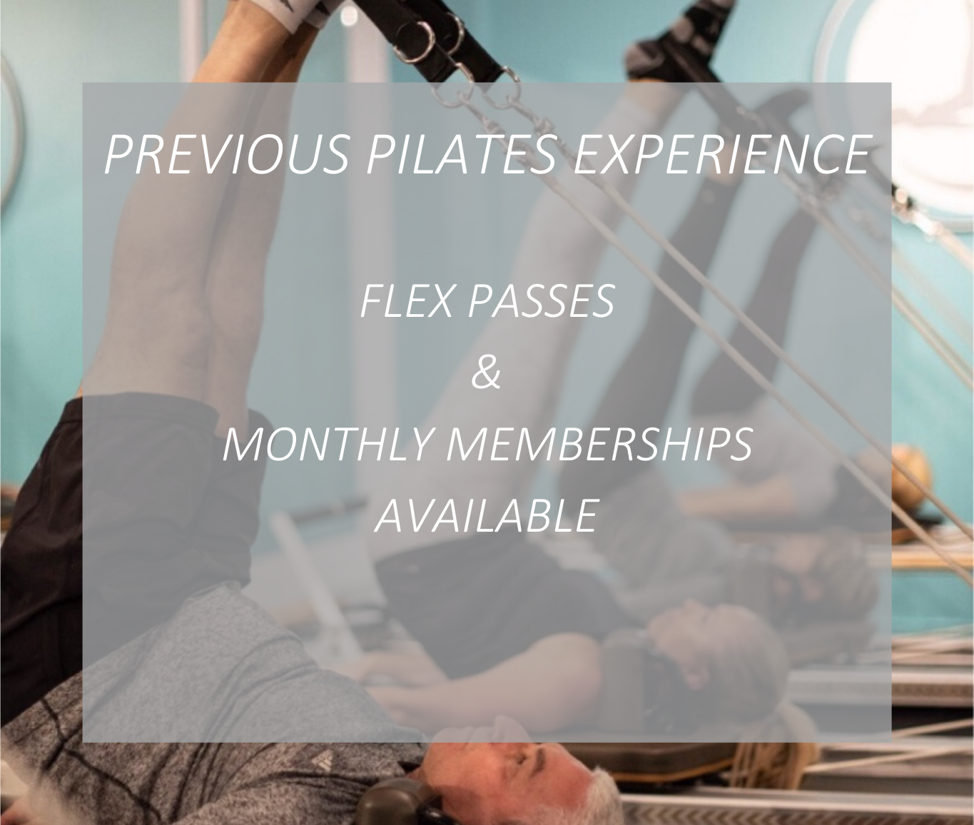 Previous Pilates Experience for Website